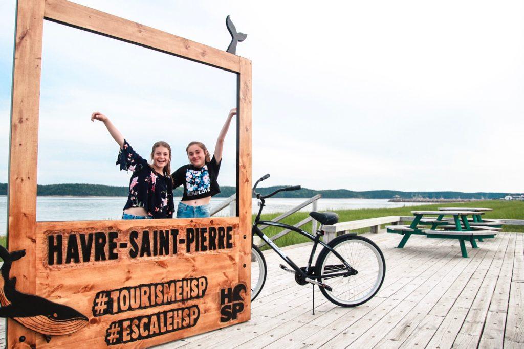 Visiter le village en vélo